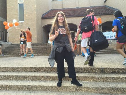 First day as a UT Dean's Scholar