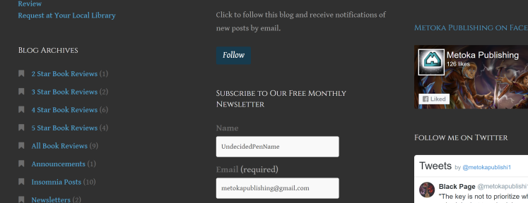 Newsletter Place